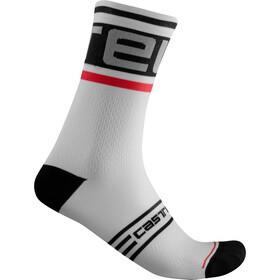 Castelli Prologo 15 Socks, negro/blanco